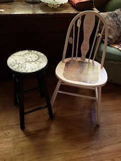 Chair & Stool