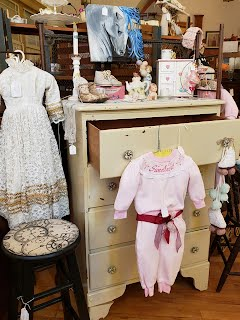 White Dresser & Baby Items